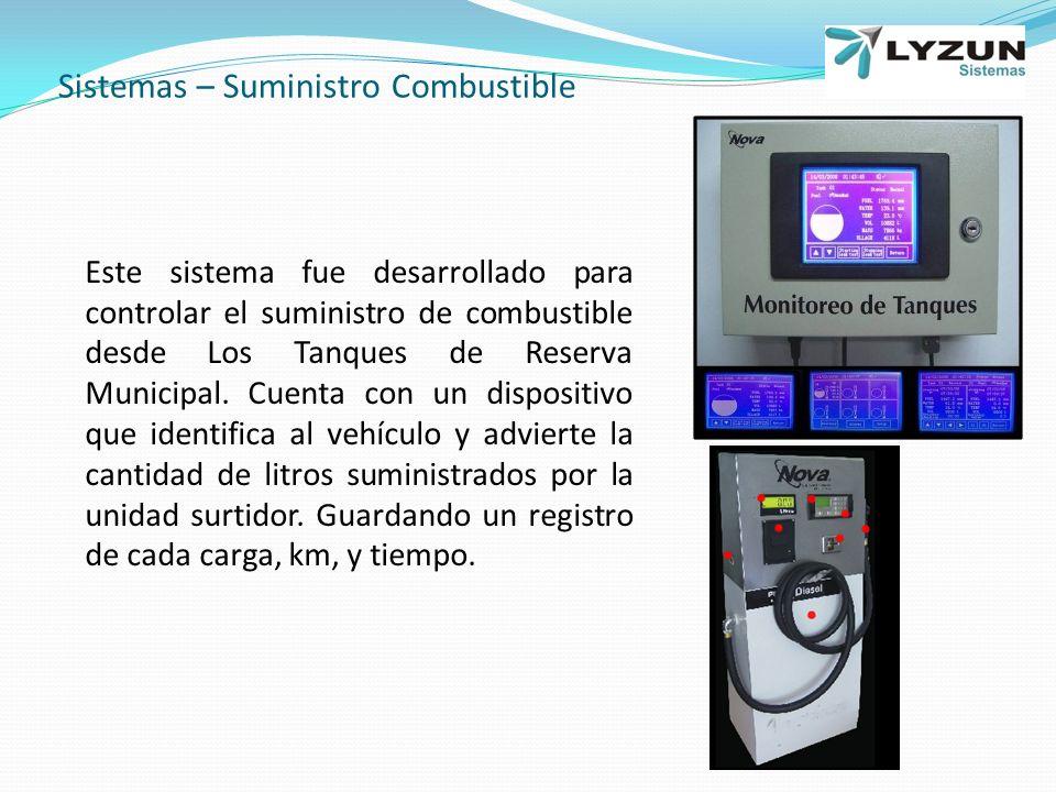 Sistemas – Suministro Combustible