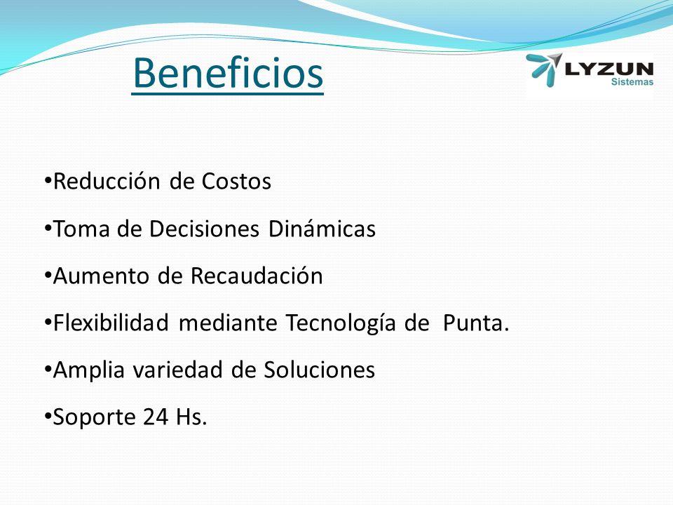 Beneficios Reducción de Costos Toma de Decisiones Dinámicas