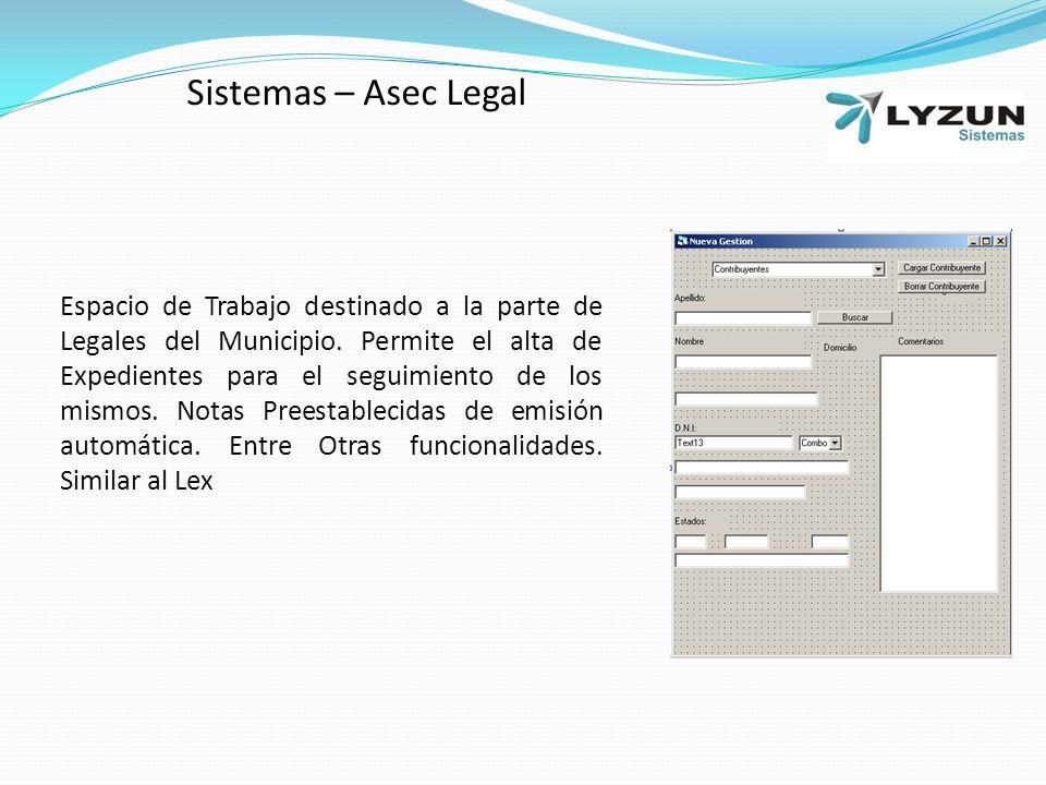 Sistemas – Asec Legal