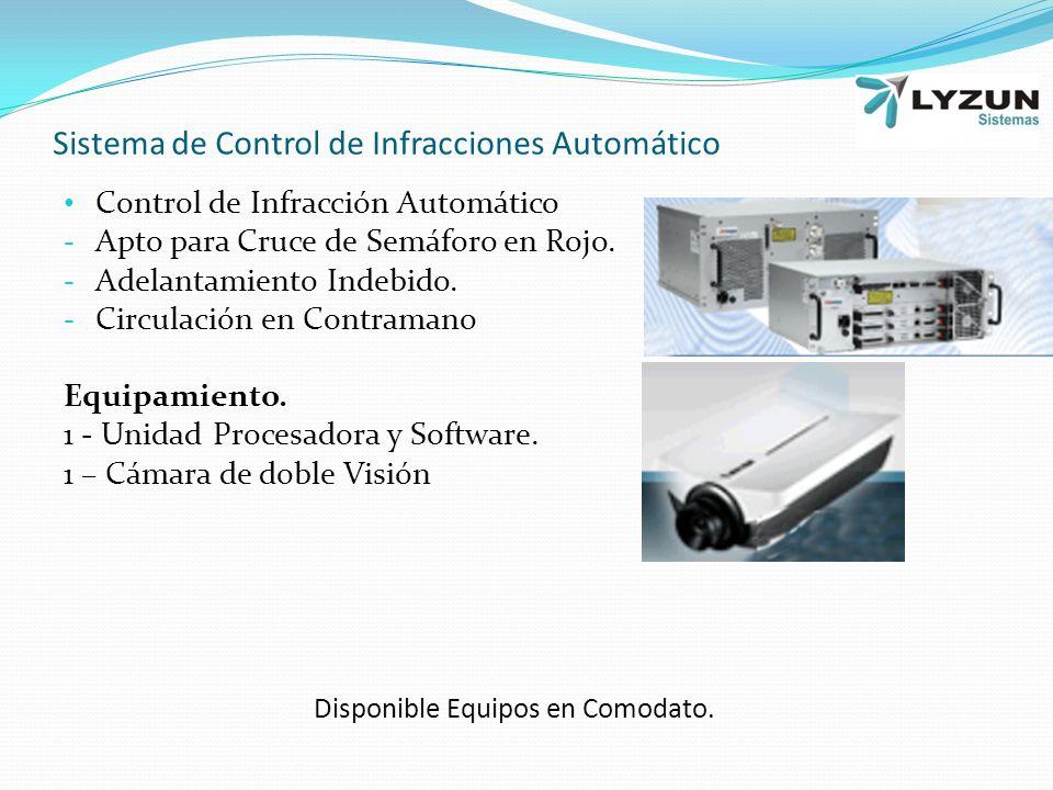 Sistema de Control de Infracciones Automático