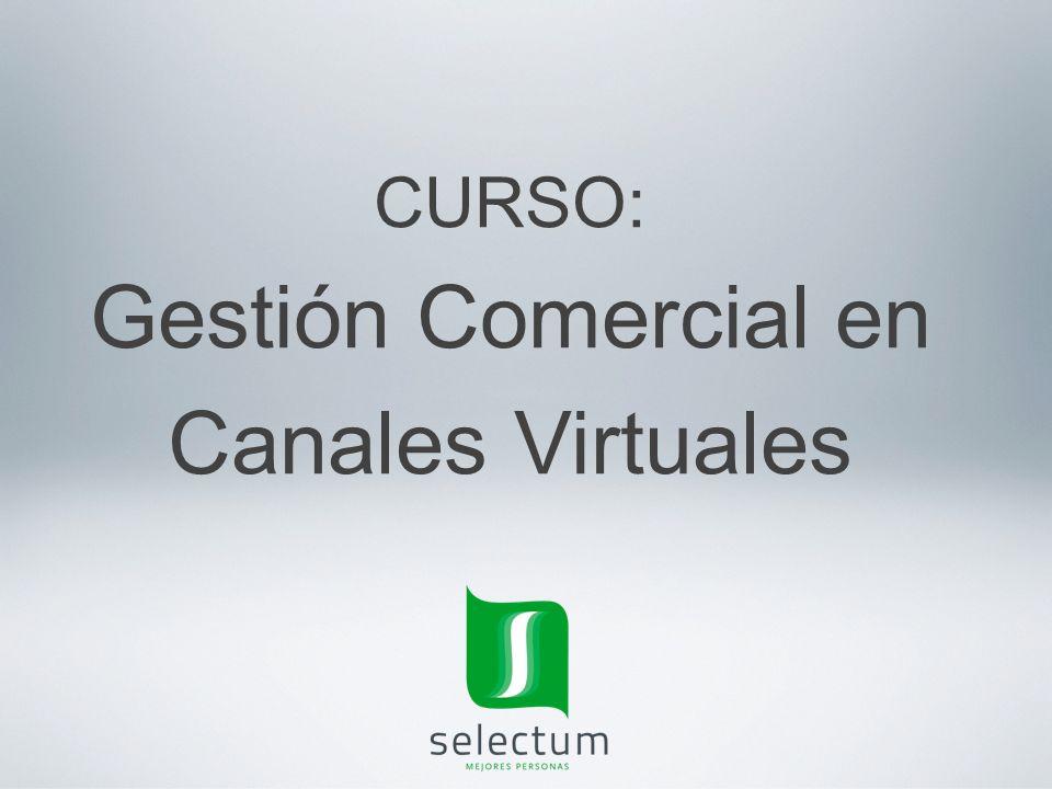 Gestión Comercial en Canales Virtuales