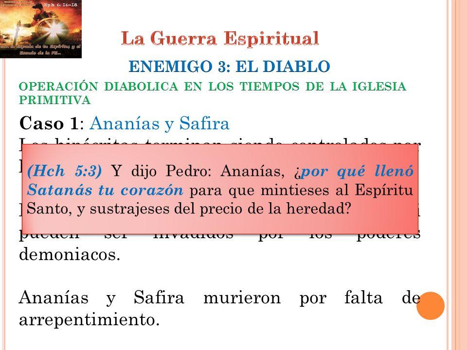 Ananías y Safira murieron por falta de arrepentimiento.