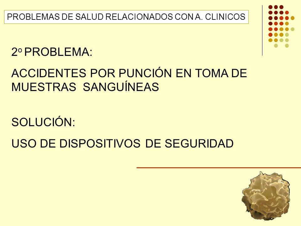 ACCIDENTES POR PUNCIÓN EN TOMA DE MUESTRAS SANGUÍNEAS