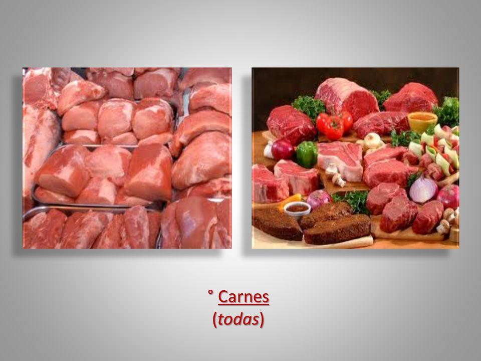 ° Carnes (todas)