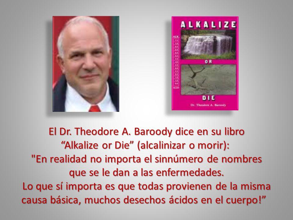 El Dr. Theodore A. Baroody dice en su libro