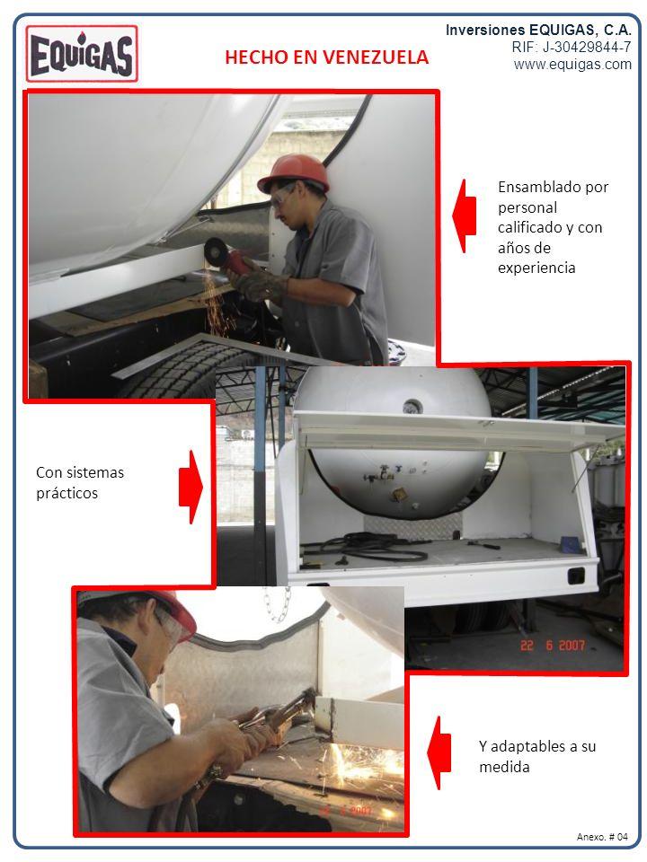 Inversiones EQUIGAS, C.A.