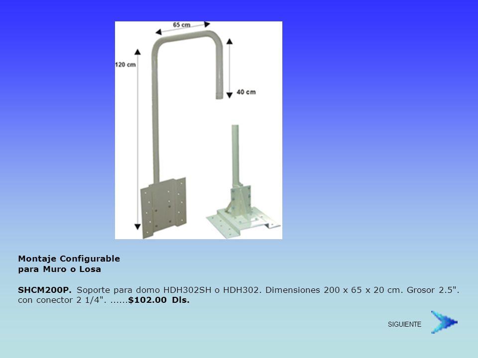 Montaje Configurable para Muro o Losa