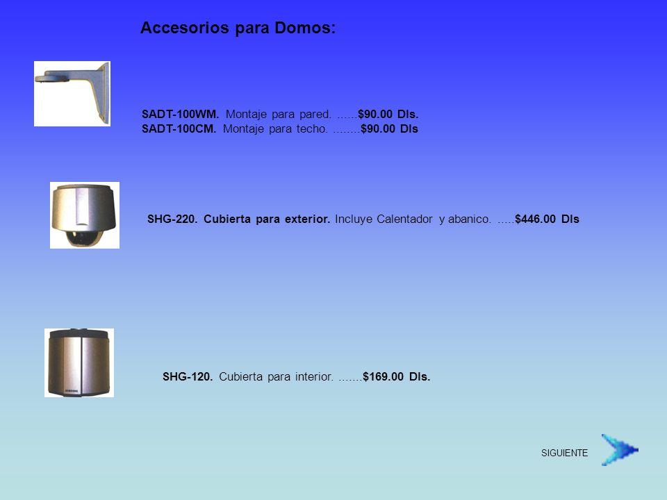 Accesorios para Domos: