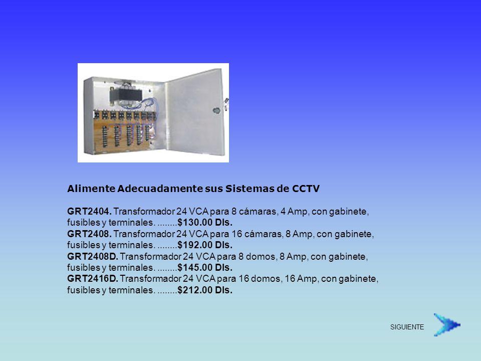Alimente Adecuadamente sus Sistemas de CCTV