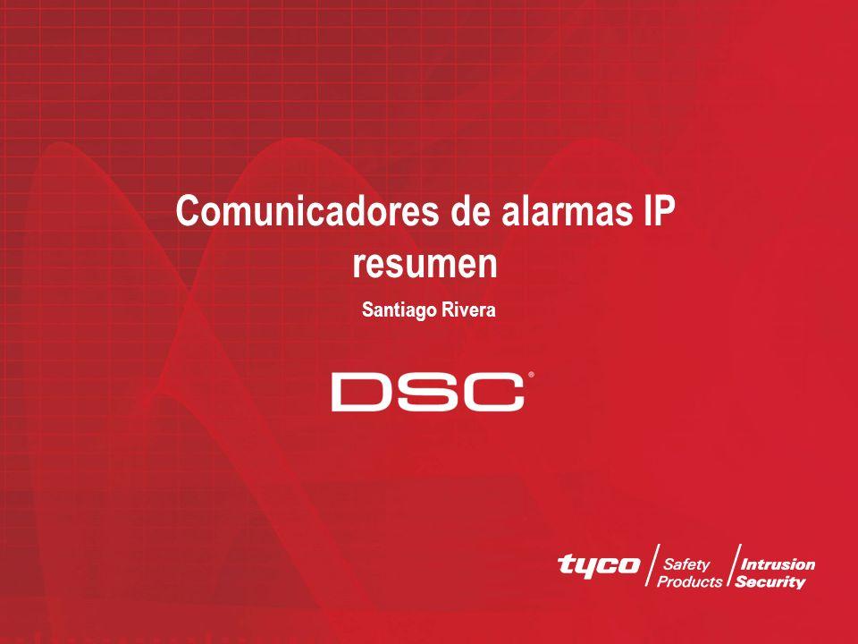 Comunicadores de alarmas IP resumen