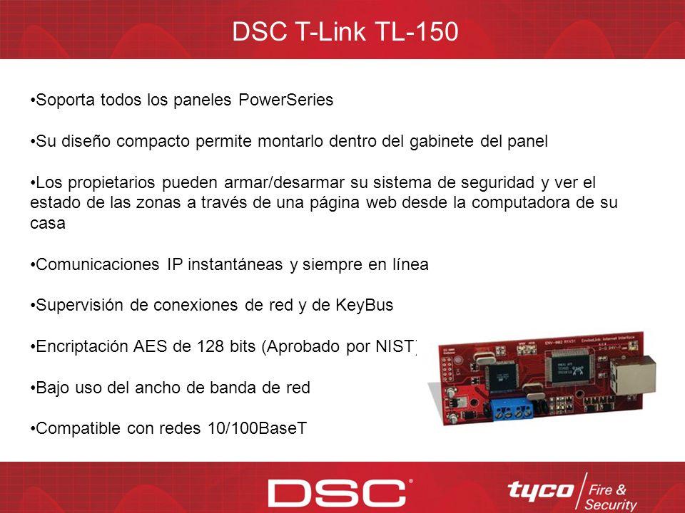 DSC T-Link TL-150 Soporta todos los paneles PowerSeries