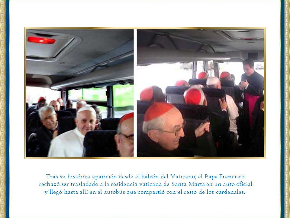 Tras su histórica aparición desde el balcón del Vaticano, el Papa Francisco