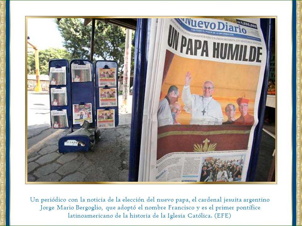 latinoamericano de la historia de la Iglesia Católica. (EFE)