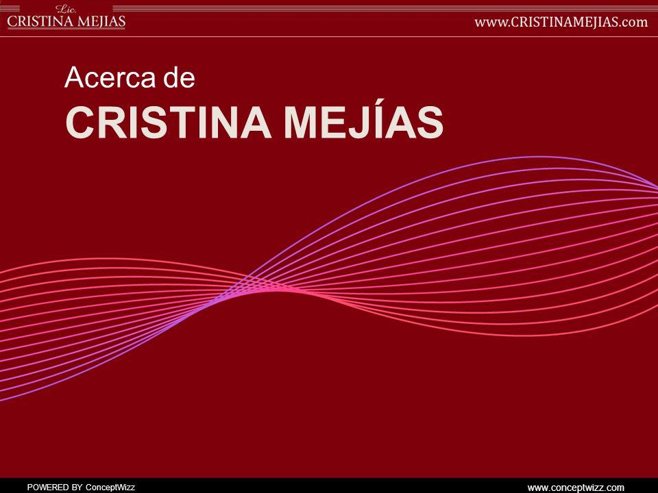 Acerca de Cristina mejías