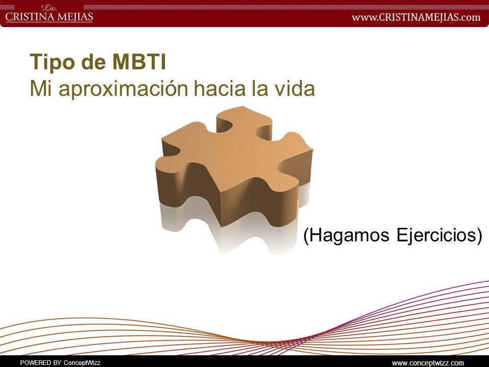 Tipo de MBTI Mi aproximación hacia la vida
