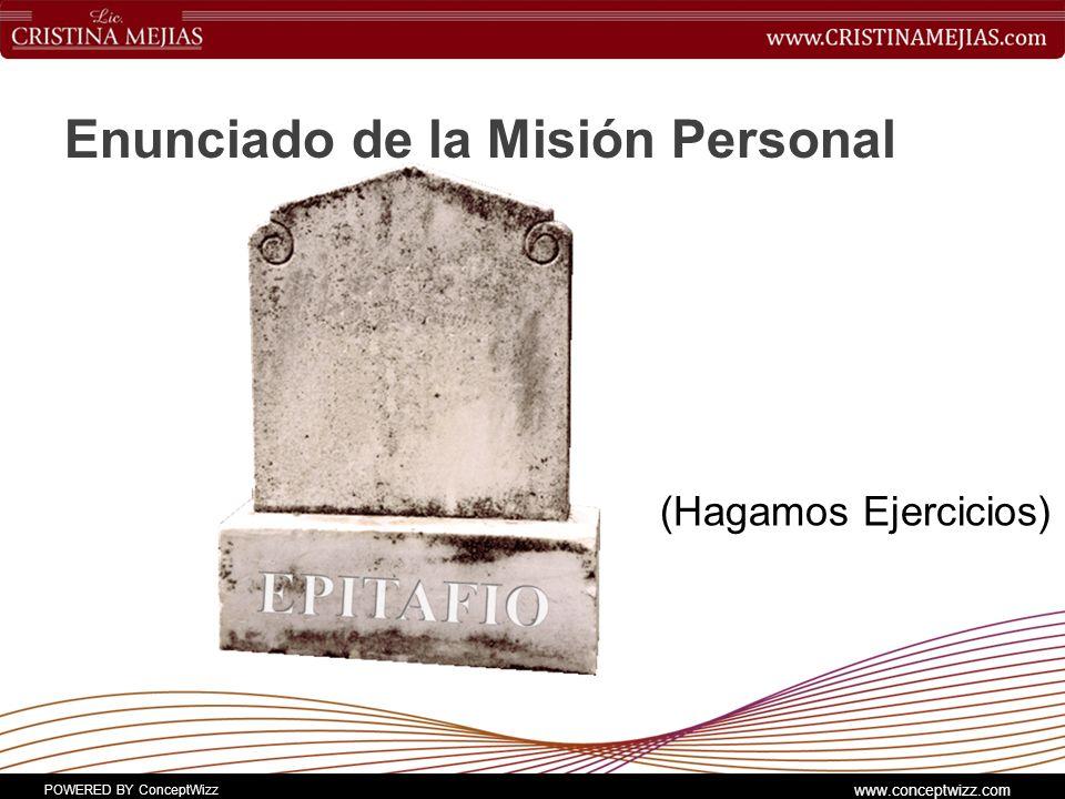 Enunciado de la Misión Personal