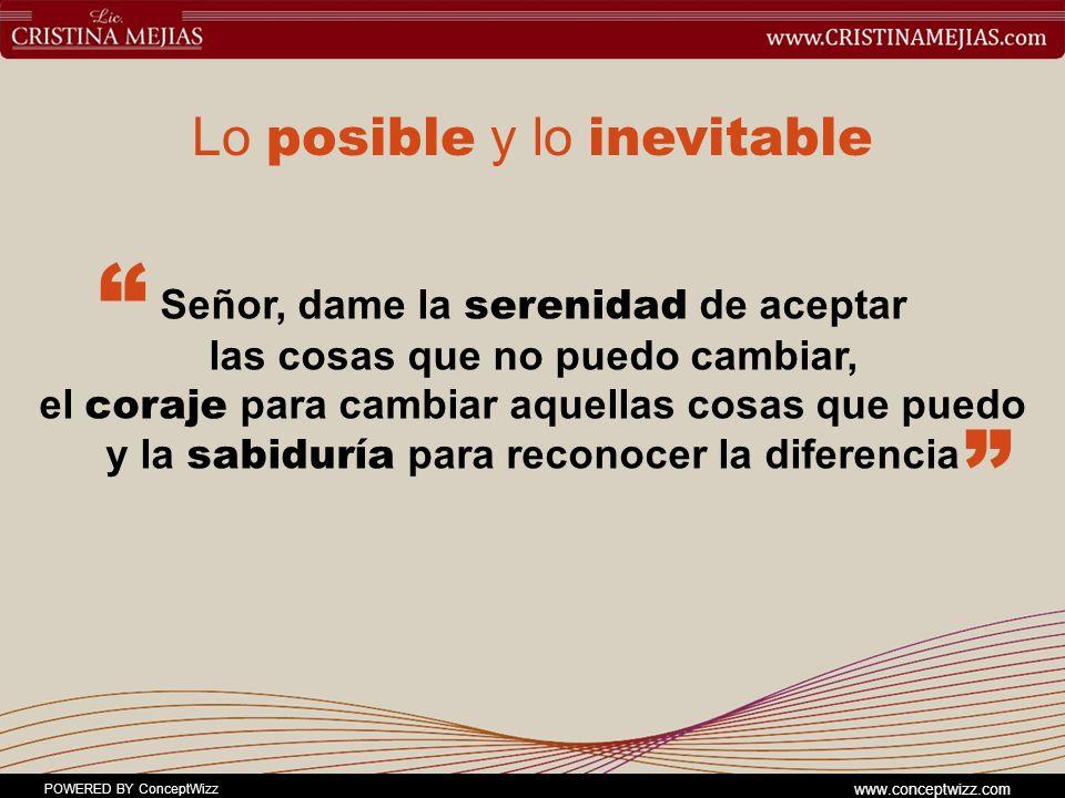Lo posible y lo inevitable