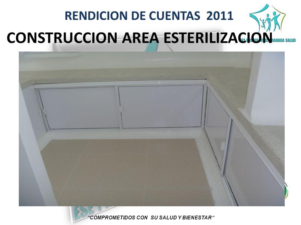 CONSTRUCCION AREA ESTERILIZACION