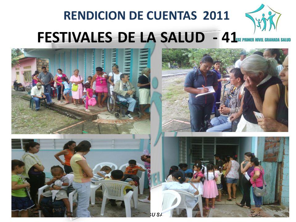 FESTIVALES DE LA SALUD - 41 COMPROMETIDOS CON SU SALUD Y BIENESTAR