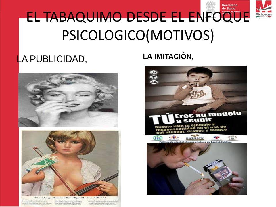 EL TABAQUIMO DESDE EL ENFOQUE PSICOLOGICO(MOTIVOS)