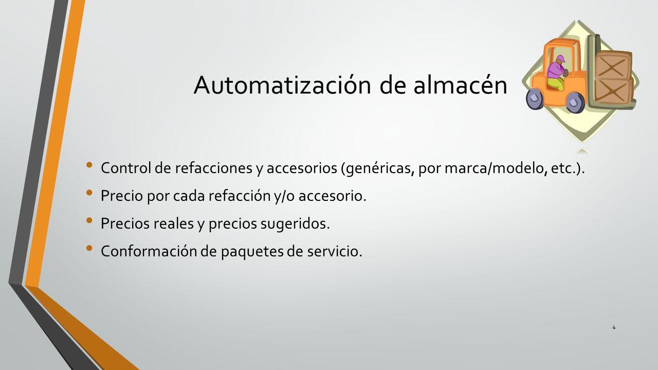 Automatización de almacén