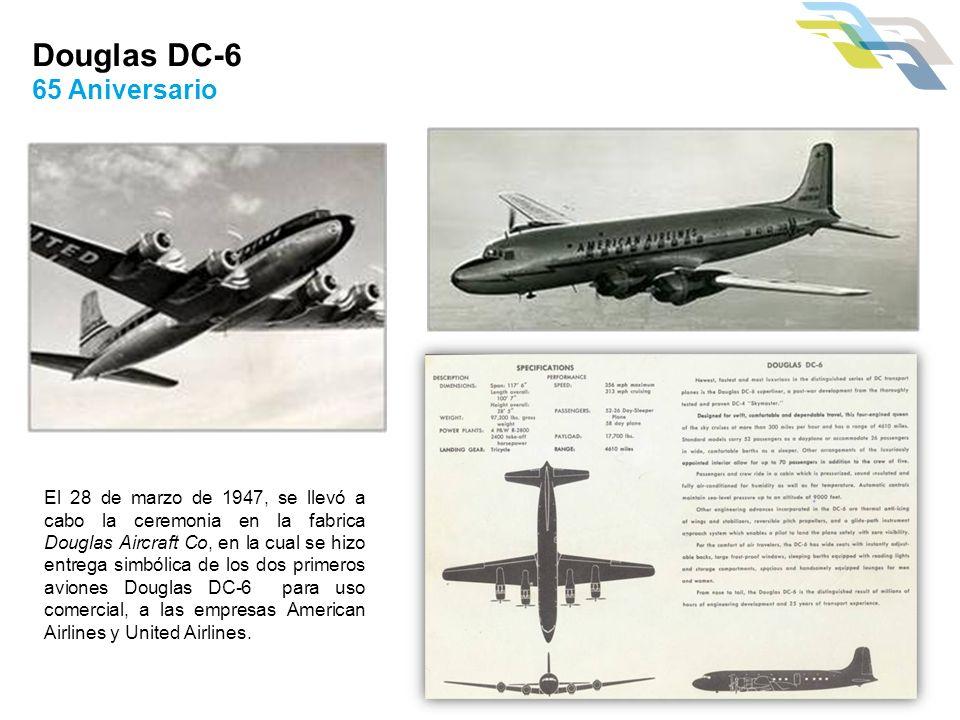 Douglas DC-6 65 Aniversario