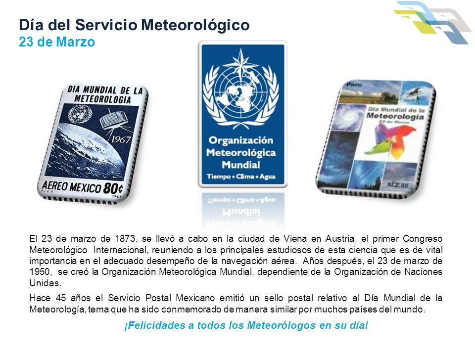 Día del Servicio Meteorológico