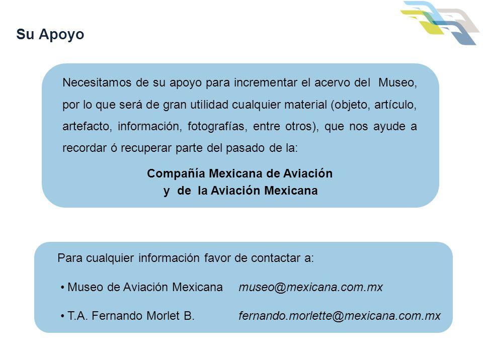 Compañía Mexicana de Aviación y de la Aviación Mexicana