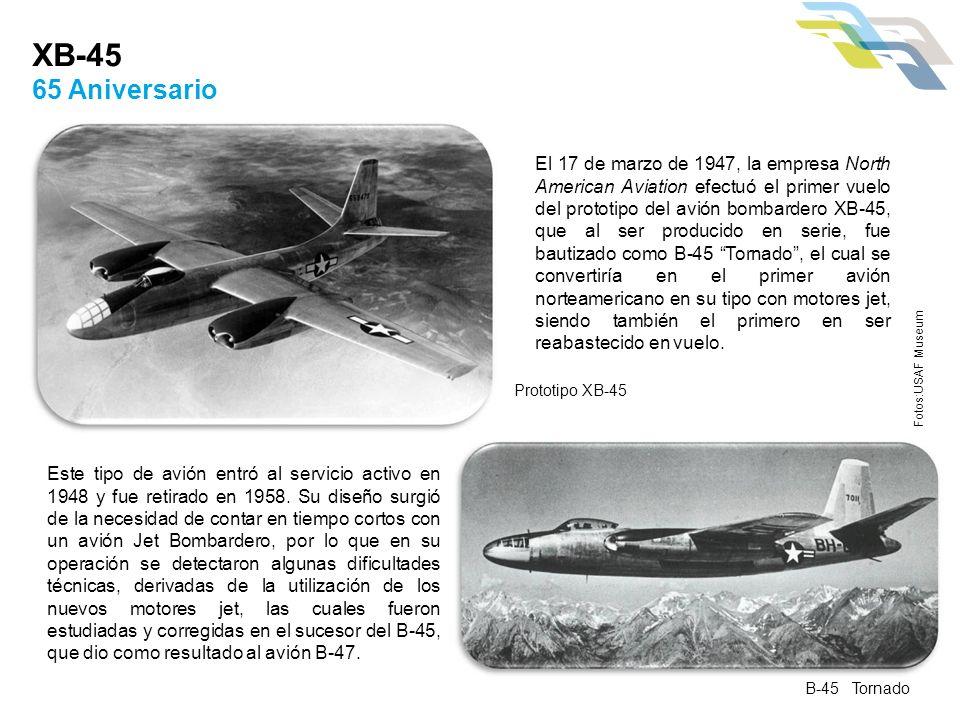 XB-45 65 Aniversario.
