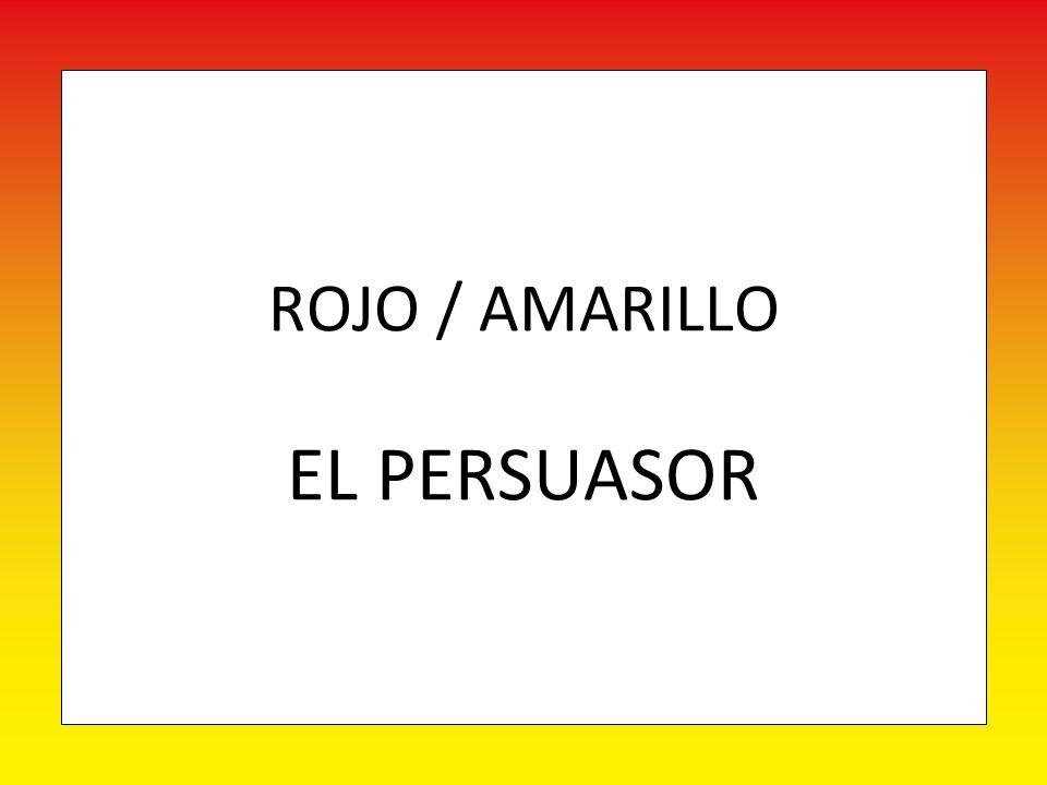 ROJO / AMARILLO EL PERSUASOR