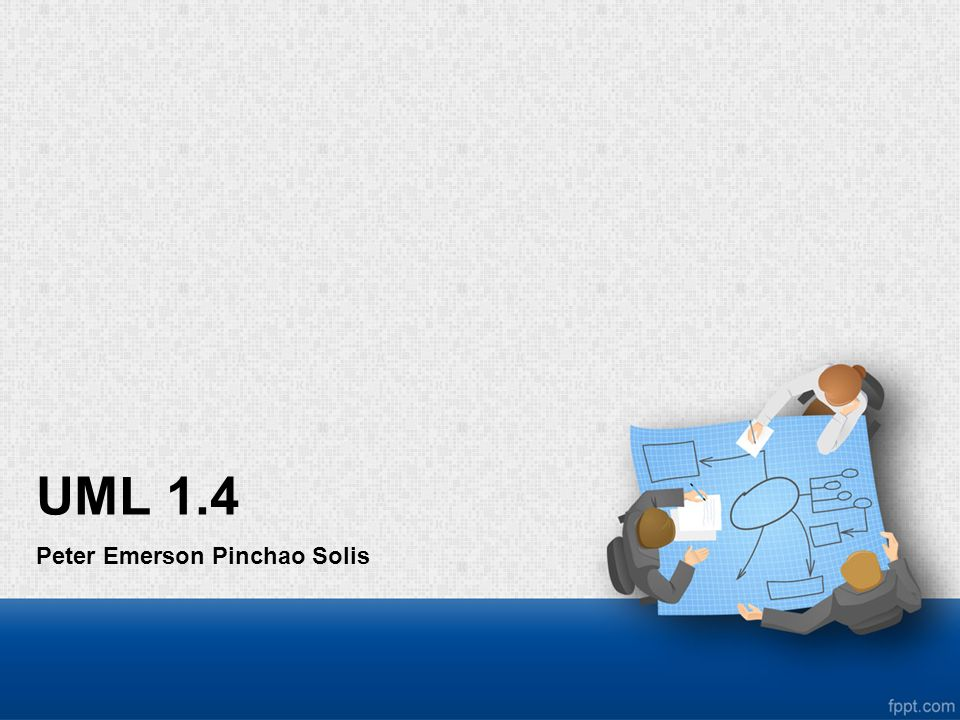 UML 1.4 Peter Emerson Pinchao Solis