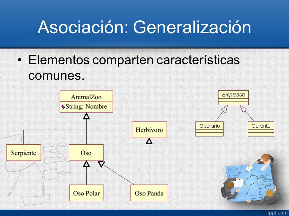 Asociación: Generalización