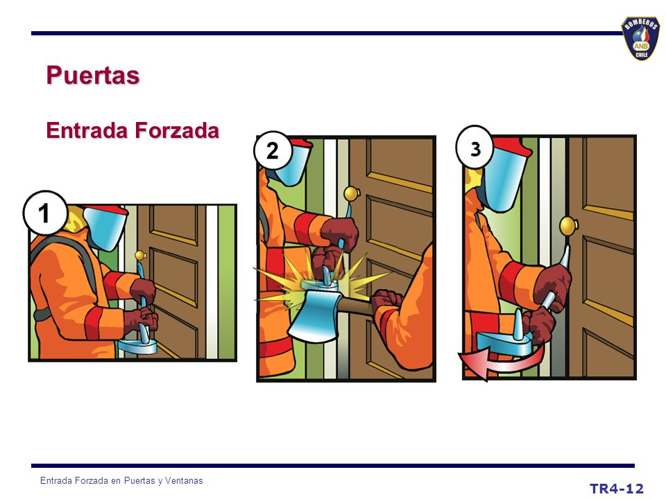 Puertas Entrada Forzada TR4-12