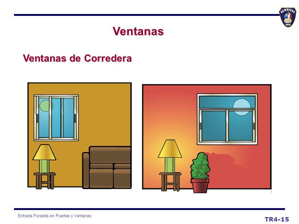 Ventanas Ventanas de Corredera TR4-15
