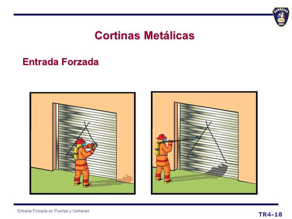 Cortinas Metálicas Entrada Forzada TR4-18