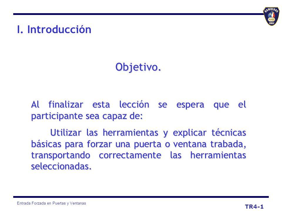 I. Introducción Objetivo.