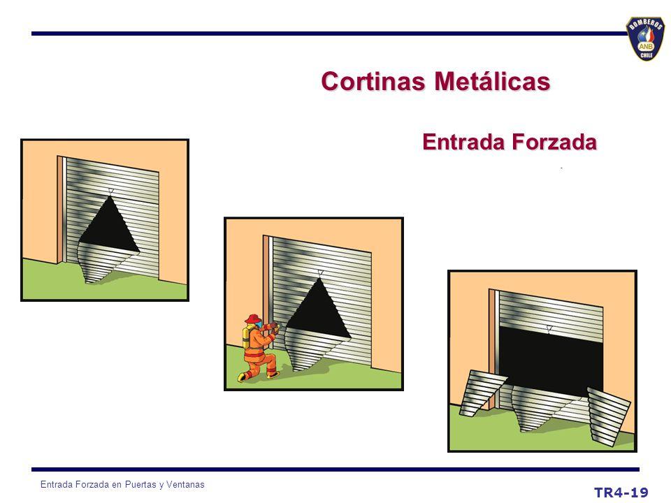 Cortinas Metálicas Entrada Forzada TR4-19