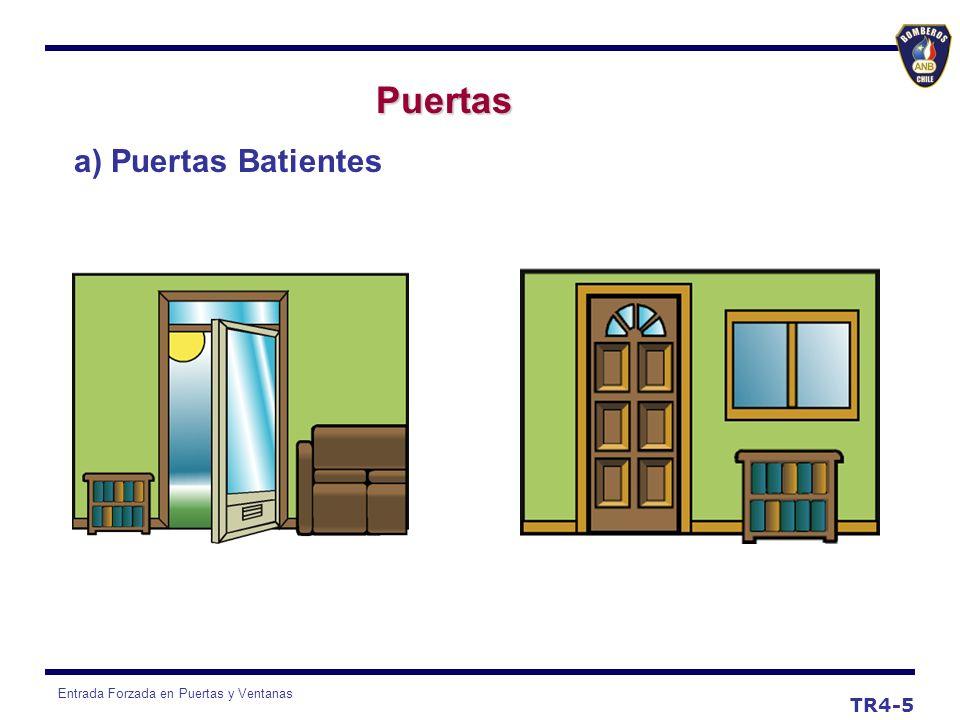 Puertas a) Puertas Batientes TR4-5