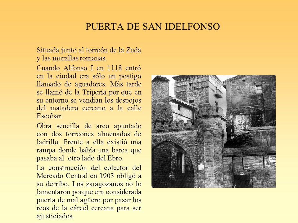 PUERTA DE SAN IDELFONSO