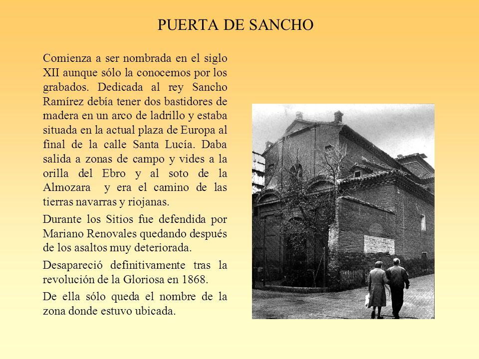 PUERTA DE SANCHO