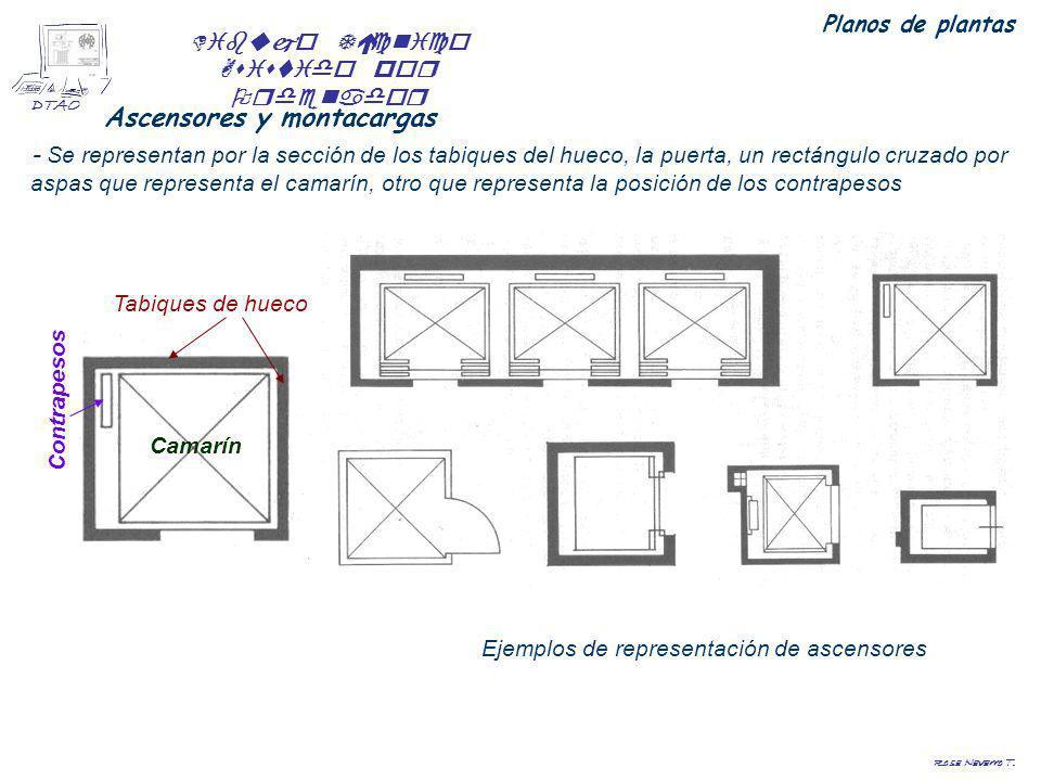 Planos de planta rosa navarro t ppt video online descargar for Representacion arquitectonica en planos