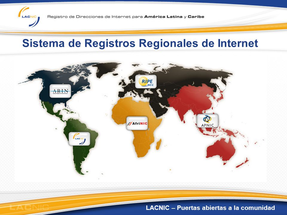 Sistema de Registros Regionales de Internet