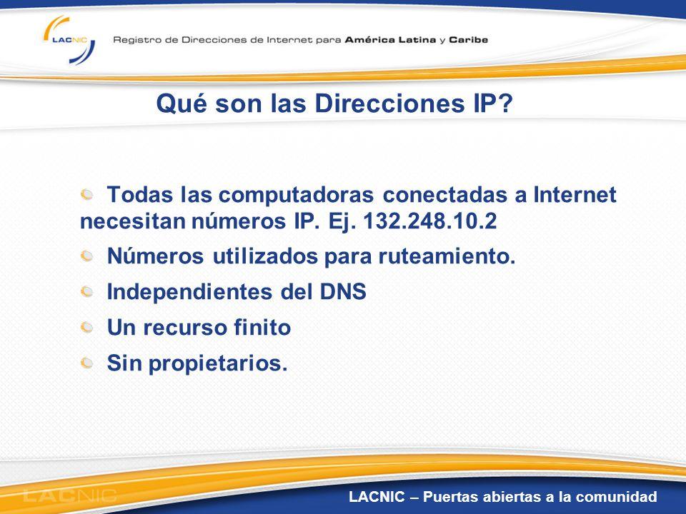 Qué son las Direcciones IP