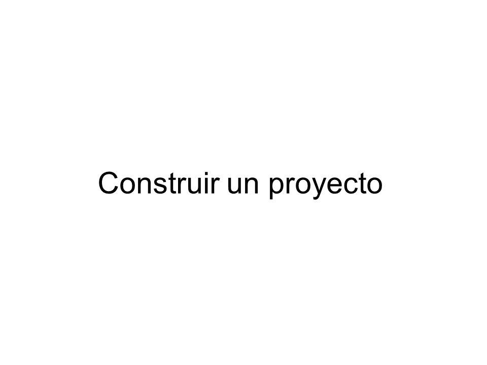 Construir un proyecto