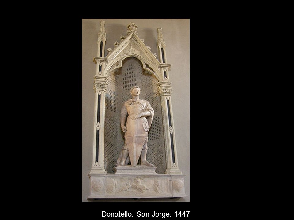 Donatello. San Jorge. 1447