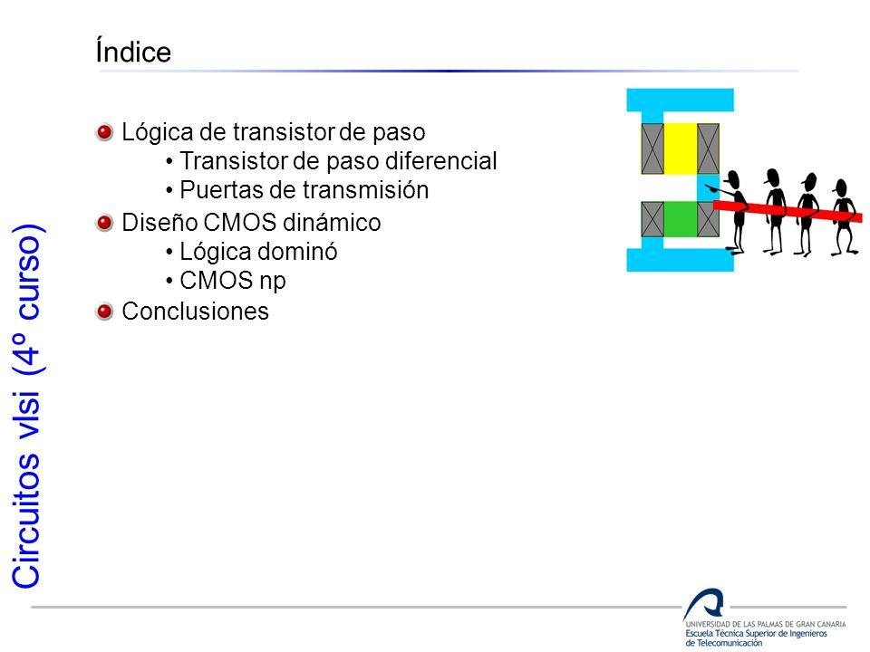 Índice Lógica de transistor de paso Transistor de paso diferencial