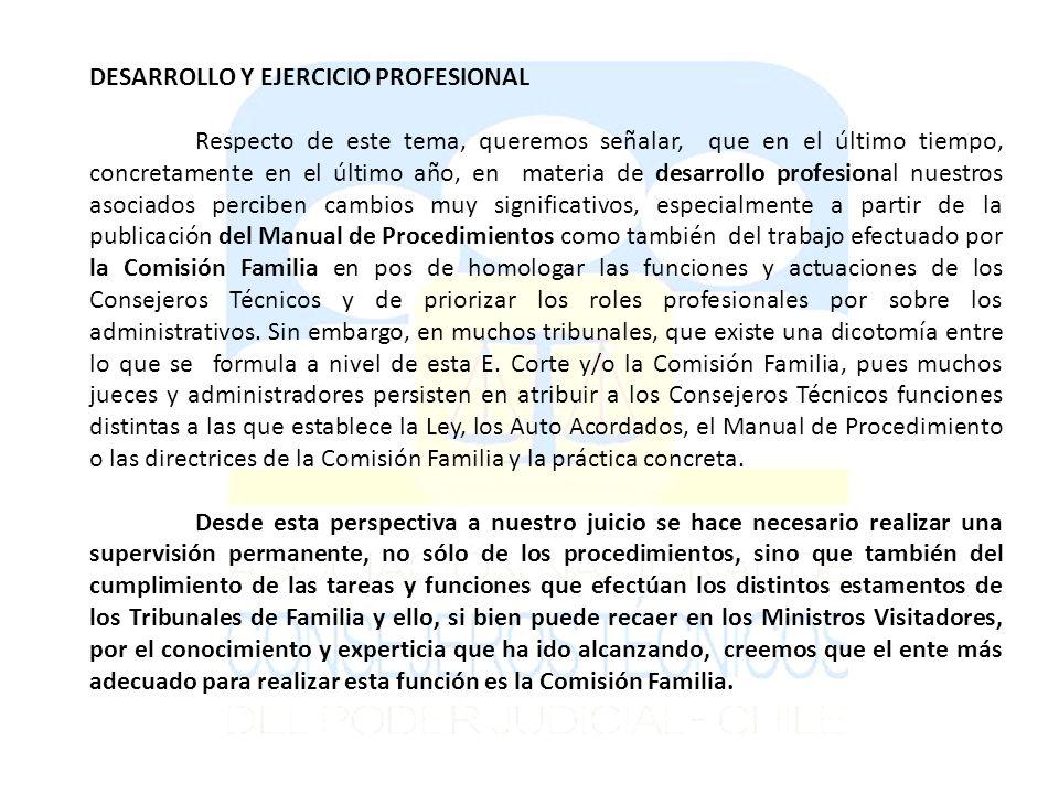 DESARROLLO Y EJERCICIO PROFESIONAL