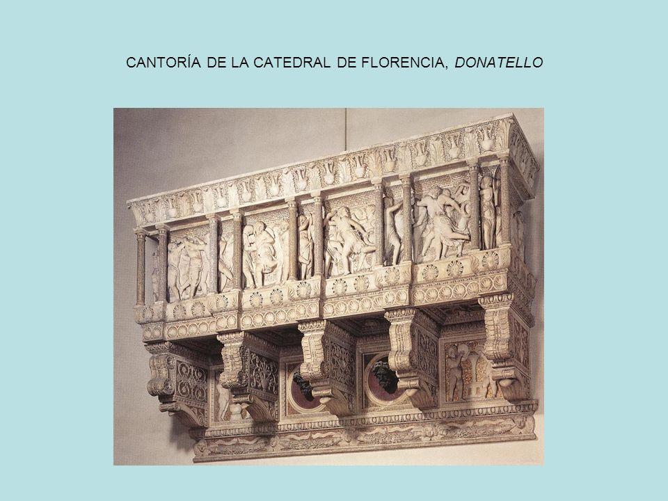 CANTORÍA DE LA CATEDRAL DE FLORENCIA, DONATELLO