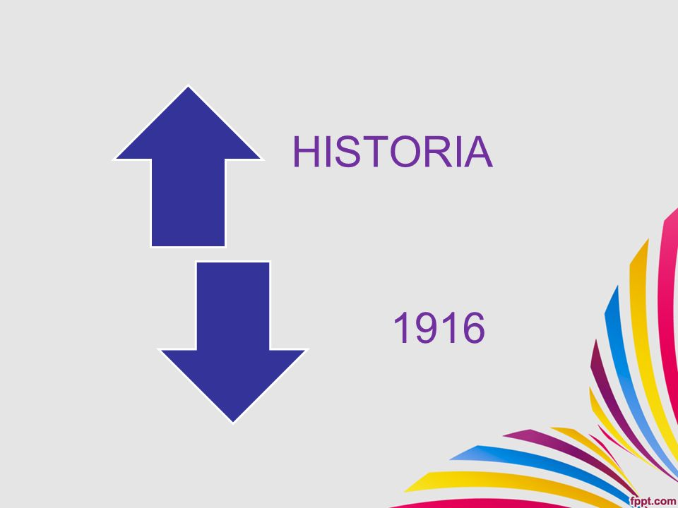 HISTORIA 1916