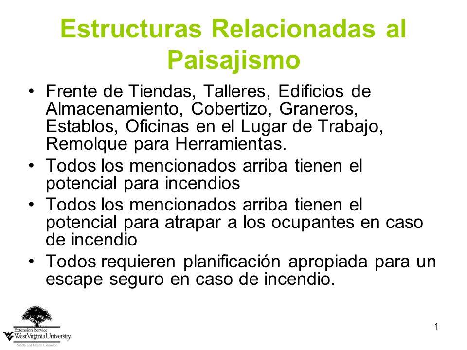 Estructuras Relacionadas al Paisajismo